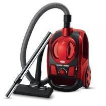 Aspirador de Pó Black+Decker 1600W Vermelho - AP4000 -