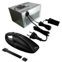 Aspirador de pó e agua Portátil 12v carro + fonte de alimentação 127/220 Bi-Volt - Multilaser