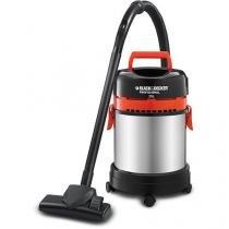 Aspirador de Pó e Líquidos 20 litros 1400 watts - AP 4850 - 220v - Black  Decker