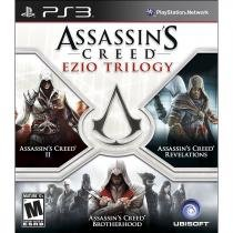 Assassins creed trilogy ezio - ps3 - Sony
