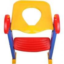 Assento Redutor com Escada Colorido - Dican