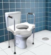 Assento Sanitário Elevado com Alça SIT V - Carci