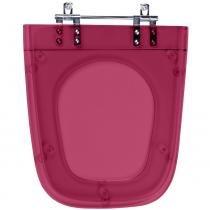 Assento Sanitario Poliester Nuage Rose Translucido para vaso Incepa - Pontto Lavabo