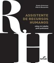 Assistente De Recursos Humanos - Senac-sp