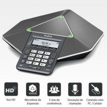 Audioconferência IP Diamond CP860  Yealink -