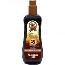 Australian gold with instant bronzer spray gel sunscreen spf 15 237ml -