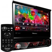 Auto Rádio CD/DVD/USB/AM/FM/Bluetooth AVH-4880DVD Preto Pioneer - Pioneer