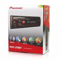 Auto Rádio mp3 Pioneer Mvh-298bt bluetooth usb rca -