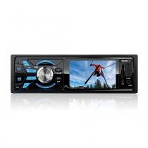 Auto Radio Multilaser P3252 ROCK com Tela LCD 3 Polegadas Troca PASTA/ MP4/ FM/ USB/ SD -