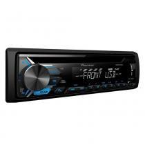 Auto Rádio Pioneer DEH-X1980UB com USB Mixtrax Dual Illumination -
