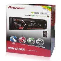 Auto Radio Pioneer Mp3 Mvh-s108ui Mixtrax Usb Rca Controle Remoto -