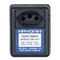 Auto Transformador Parede 220/127VAC 50VA TRP 5011 Preto Hayonik -