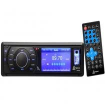 Autorrádio AM/FM Estéreo Lenoxx AD2603 Preto Bivolt com CD Player DVD USB Cartão SD e MP3 - Lenoxx