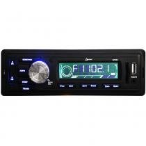 Autorrádio Lenoxx AR604 Preto Bivolt com Rádio FM MP3 Entradas USB Cartão SD e Auxiliar - Lenoxx