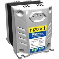 Autotransformador 127/220vac 1500va slim power prata rcg - Rcg