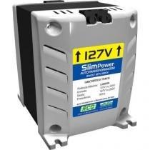 Autotransformador 127/220vac 5000va slim power prata rcg - Rcg