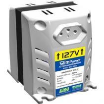 Autotransformador 127/220vac 500va slim power prata rcg - Rcg