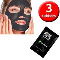 Avenca - Kit Máscara Preta Removedora de Cravos - 3 Unidades - Avenca