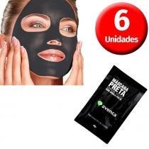 Avenca - Kit Máscara Preta Removedora de Cravos - 6 Unidades - Avenca