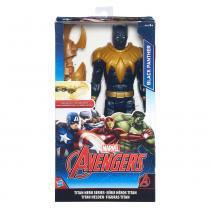Avengers Titan Boneco Black Panther - Hasbro - hasbro