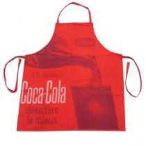 Avental de Cozinha Coca Cola Servindo Vermelho Vintage - Gorila clube