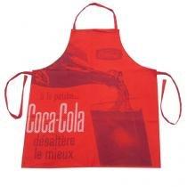 Avental de Cozinha Coca Cola Servindo Vermelho Vintage - Vermelho - Único - Gorila Clube