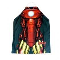 Avental de Cozinha Homem de Ferro Vingadores Quadrinhos Marvel - Vermelho - Único - Gorila Clube