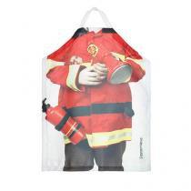 Avental de Cozinha Infantil Bombeiro - Vermelho - Único - Gorila Clube