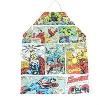 Avental De Cozinha Quadrinhos Hq Comic Marvel - Azul - Único - Gorila Clube
