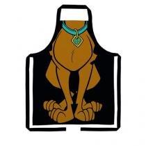Avental de Cozinha Scooby Doo Cachorro - Preto - Único - Gorila Clube