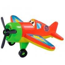 Avião Airplane Adventure Vermelho - Dismat - Dismat
