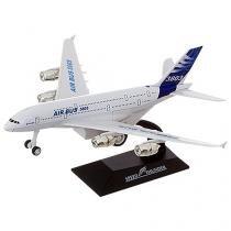 Avião Emite Sons e Luzes Flying Metal - Shiny Toys
