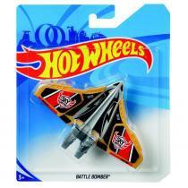 Avião Hot Wheels - Battle Bomber - Mattel -