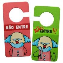 Aviso de Porta Ecologico DrPepper Paiaco - Nunca Entre - YaaY!