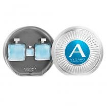 Azzaro Chrome Kit - Eau de Toilette + Pós-Barba + Miniatura -