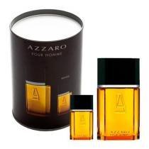 Azzaro Pour Homme Azzaro - Masculino - Eau de Toilette - Perfume + Miniatura + Lata - Azzaro