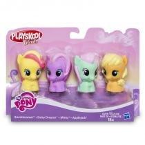 B4628 my little pony playskool c/4 bumble daisy minty apple - Hasbro