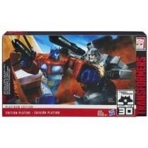 B5885 transformers platinum optimus prime x megatron - Hasbro