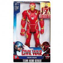 B6177 marvel titan  figura eletronica - iron man - Hasbro