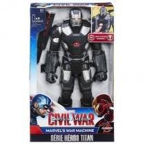 B6179 marvel titan  figura eletronica - war machine - Hasbro