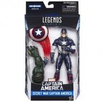 """B6355 marvel legends 6"""""""" secret war capitão américa - Hasbro"""