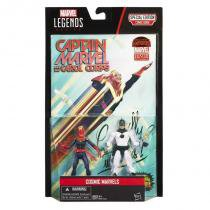 "B6357 marvel legends 3,75"""" cosmic marvels com quadrinho - Hasbro"