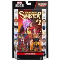 "B6357 marvel legends 3,75"""" supreme power com quadrinho - Hasbro"