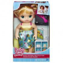 B7223 baby alive escolinha loira - Hasbro