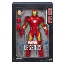 "B7434 marvel legends 12"""" homem de ferro xl / iron-man xl - Hasbro"