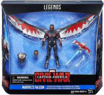 "B7457 marvel legends 3,75"""" avengers falcon - Hasbro"