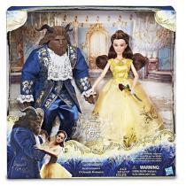 B9167 disney princesas bela e a fera pack duplo deluxe - Hasbro