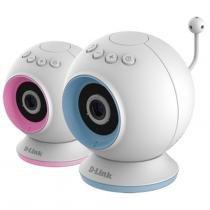 Babá Eletrônica Câmera Wifi/Visão Noturna DCS-825L Branco - D-Link - D-Link