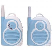 Babá Eletrônica com Dois Adaptadores Bivolt 9995 Azul Buba Toys - Buba