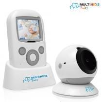 Babá Eletrônica Tela LCD Color Baby View BB001 - Multikids Baby - Multikids Baby
